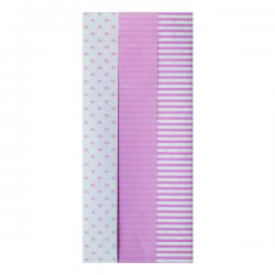 Cheap Stationery Supply of Pink Baby Tissue Paper (Pack of 12) 26763-LP Office Statationery
