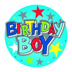 Cheap Stationery Supply of Birthday Boy Giant Badge (Pack of 6) 24780-BB Office Statationery