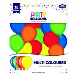 Cheap Stationery Supply of Party Balloons Multicoloured (Pack of 6) 12924-M-1 Office Statationery