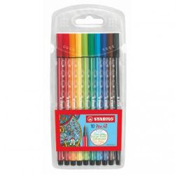Cheap Stationery Supply of Stabilo Point 68 Fibre Tip Pen Assorted Pack of 10 Office Statationery