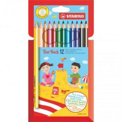 Cheap Stationery Supply of Stabilo Trio Thick Colouring Pencils Pack of 12 Office Statationery
