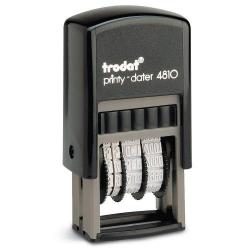 Cheap Stationery Supply of Trodat Printy 4810 Self Inking Budget Mini Date Stamp Black Ink Office Statationery