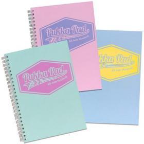Pukka A5 Pastel Jotta Notepad Pack of 3