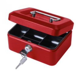 Cheap Stationery Supply of Value 15cm 6  Metal Cash Box Rd Office Statationery