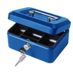 Cheap Stationery Supply of Value 20cm 8  Metal Cash Box Bl Office Statationery