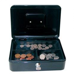 Cheap Stationery Supply of Value 25cm 10  Metal Cash Box Bk Office Statationery