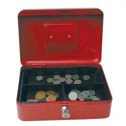 Cheap Stationery Supply of Value 25cm 10  Metal Cash Box Rd Office Statationery