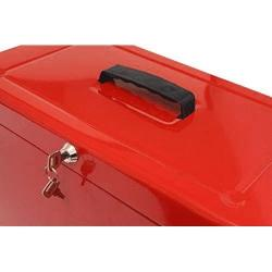 Cheap Stationery Supply of Value Metal File Box Foolscap Rd Office Statationery