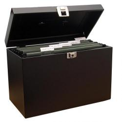 Cheap Stationery Supply of Value Metal File Box A4 Bk Office Statationery