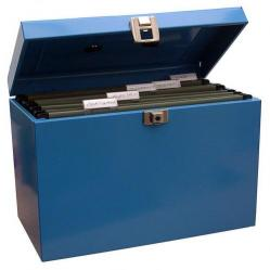 Cheap Stationery Supply of Value Metal File Box A4 Bl Office Statationery