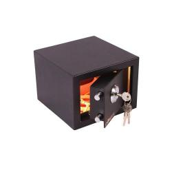 Cheap Stationery Supply of Value Cathedral Key Locking Safe Black 14361CA Office Statationery