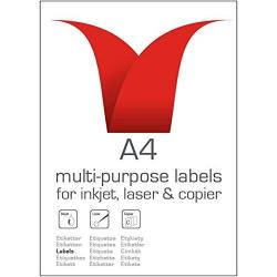 Cheap Stationery Supply of Valuex Multipurpose Label 99.1x38.1mm 14 Per Sht 1400labels Office Statationery