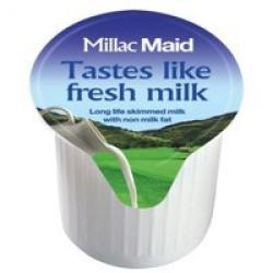 Cheap Stationery Supply of Lakeland Full Fat Long Life Milk Pot 14ml Pack of 120 Office Statationery