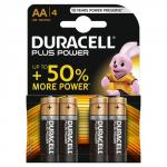 Duracell Aa Plus Batteries Pack of 4