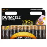Duracell Aa Plus Batteries Pack of 12