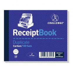 Cheap Stationery Supply of Challenge 105x130mm Duplicate Receipt Book Pack of 5 Office Statationery