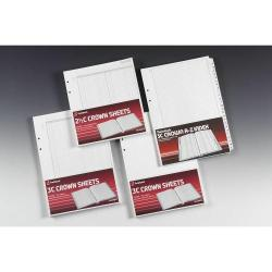 Cheap Stationery Supply of Twinlock Crown Shts Double Ledger Size 3 Office Statationery