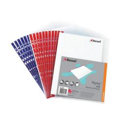 Cheap Stationery Supply of Nyrex Reinforced Pockets Top Open 90 Micron A4 12233(PK25) 27766AC Office Statationery