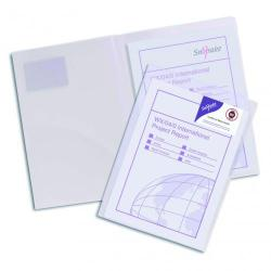 Cheap Stationery Supply of Snopake TwinFile A4 CLR PK5 Office Statationery