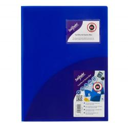 Cheap Stationery Supply of Snopake Twinfile A4 Electric BL PK5 Office Statationery