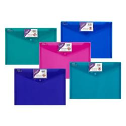 Cheap Stationery Supply of Polyfile ID Wallet A4 Astd PK5 Office Statationery