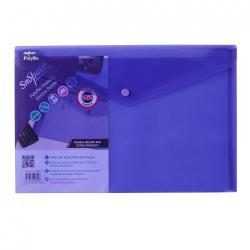 Cheap Stationery Supply of Polyfile Wallet F/S Electra PRL PK5 Office Statationery