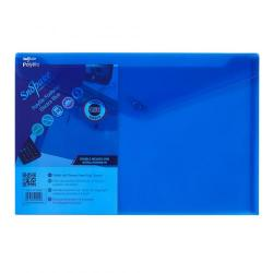 Cheap Stationery Supply of Polyfile Wallet F/S Electra BL PK5 Office Statationery