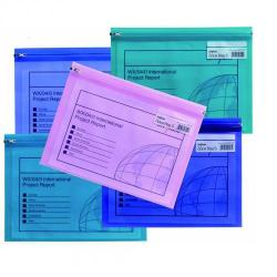 Cheap Stationery Supply of Snopake Zippa Bag S A4 Astd PK25 Office Statationery