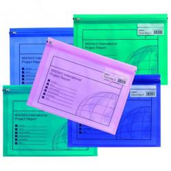 Cheap Stationery Supply of Snopake Zippa Bag S A5 Astd PK25 Office Statationery