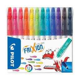 Cheap Stationery Supply of Pilot Frixion Colouring Pens Assorted Pack of 12 Office Statationery