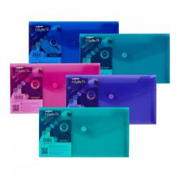 Cheap Stationery Supply of Polyfile Wallet DL Electra Astd PK5 Office Statationery