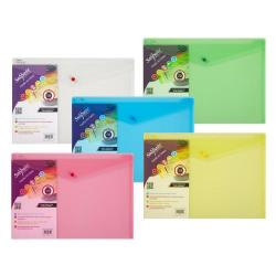 Cheap Stationery Supply of Polyfile Wallet A3 Classic Astd PK5 Office Statationery