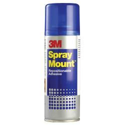 Cheap Stationery Supply of 3m Spray Mount Adhesive Spray 400ml Office Statationery