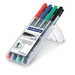 Cheap Stationery Supply of Staedtler 310 Lumocolor Cd/Dvd Marker 0.4mm Assorted Pack 4 33163TT Office Statationery