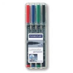 Cheap Stationery Supply of Staedtler Lumocolor Ohp Pen Permanent Superfine 0.4 Assorted Pack of 4 Office Statationery