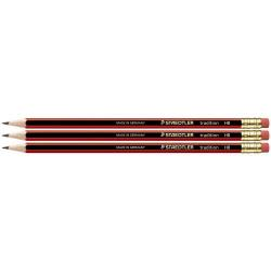 Cheap Stationery Supply of Staedtler 112 Tradition Hb Pencil Rubber Tip Pack of 12 Office Statationery