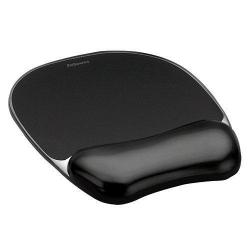 Cheap Stationery Supply of Fellowes Crystal Mouse Pad And Wrist Rest Black 9112101 Office Statationery