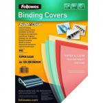 Fellowes PVC Cover A4 200 Microns Clear 5376102 (PK100) 35361FE