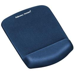Cheap Stationery Supply of Fellowes Plushtouch Mousepad Wrist Support Blue Office Statationery