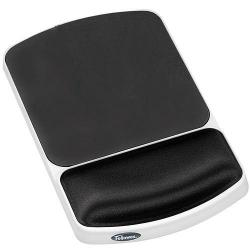 Cheap Stationery Supply of Fellowes Gel Wrist Rest Mousepad Graphite Office Statationery