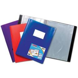 Cheap Stationery Supply of Tiger A4 Flexi Disp Book Asst 40pkt Office Statationery
