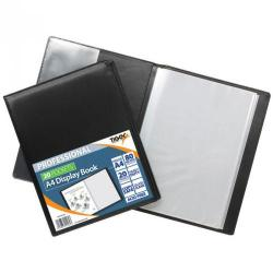Cheap Stationery Supply of Tiger A4 Professional Display Book 20 Pocket Black Office Statationery