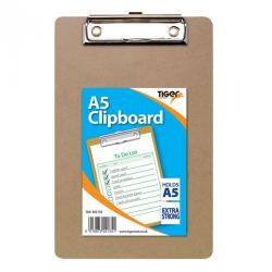 Cheap Stationery Supply of Tiger A5 Masonite Clipboard Office Statationery