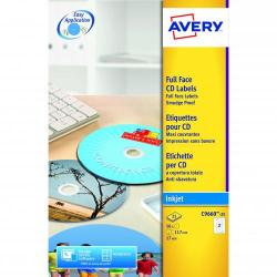 Cheap Stationery Supply of Avery Fullface Cd Label Glossy 117mm Diameter C9660-25 50labels Office Statationery