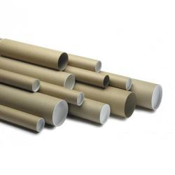 Cheap Stationery Supply of Postal Tube 970x 100mm Brown Pack of 5 Office Statationery