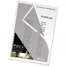 Cheap Stationery Supply of Seco Security Cut Flush Folder A4 Clear Pack10 Office Statationery