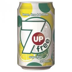 Cheap Stationery Supply of 7up Diet 330ml Cans Pack of 24 Office Statationery