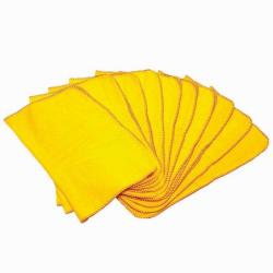 Cheap Stationery Supply of Value Yellow Dusters (Pack 10) DD 52186CP Office Statationery
