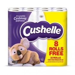 Cheap Stationery Supply of Cushelle Toilet Rolls White (Pack 32 for 24) DD 52711CP Office Statationery