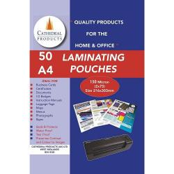 Cheap Stationery Supply of Laminating Pouch A4 150mic Pack of 50 Office Statationery